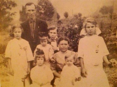 The Booth family, Wayne County WV 1910 Cousins of John
