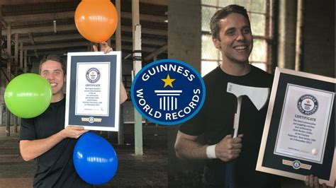 OFFICIAL GUINNESS WORLD RECORDS! - YouTube