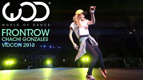 Chachi Gonzales | World of Dance Live | FRONTROW | VIDCON